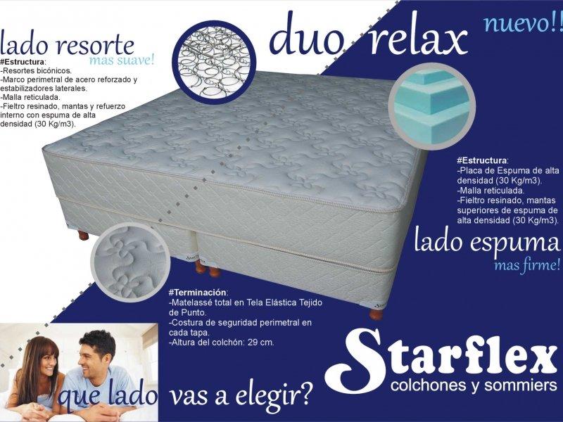 Duo Relax - Colchones y Sommiers en Dormitorio :: Starflex ...